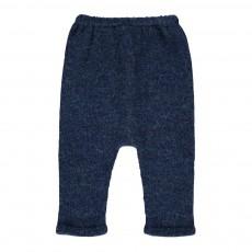 Exclusivité Oeuf x Smallable- Sarouel Baby Alpaga Hammer Pants Bleu indigo