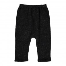 Exclusivité Oeuf x Smallable- Sarouel Baby Alpaga Hammer Pants Noir