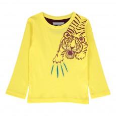 T-shirt Claw Jaune