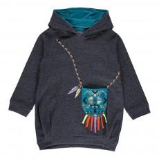 Robe Capuche Indian Purse Denim