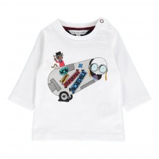 T-shirt Mr Marc Cirque Blanc