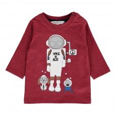 T-shirt Mr Marc Espace Rouge