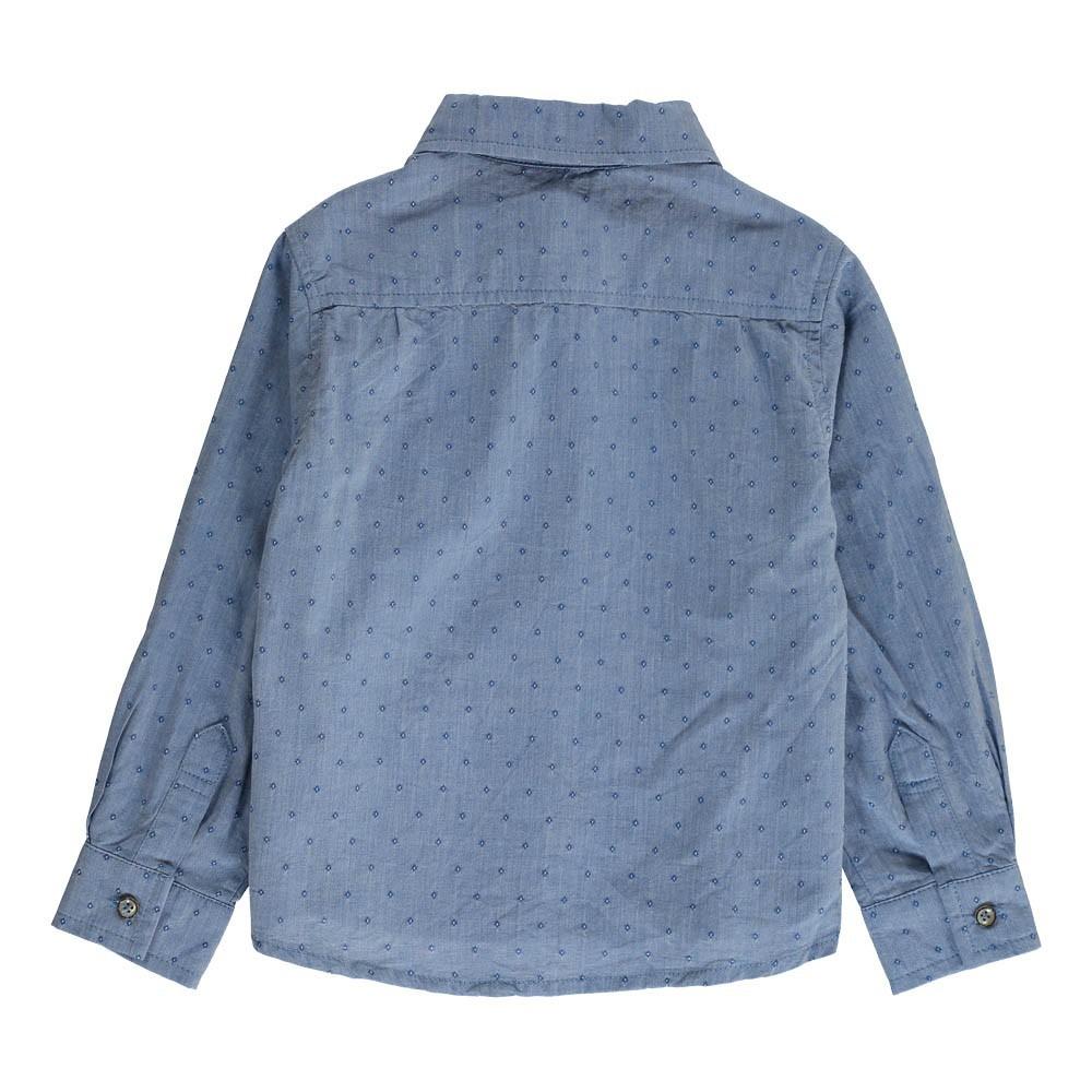 chemise poche ben bleu gris morley mode ado gar on smallable. Black Bedroom Furniture Sets. Home Design Ideas