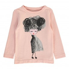 T-Shirt Poupée Misses Rose