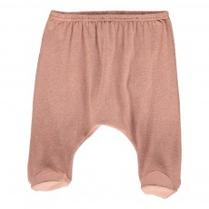 Pantalon Pieds Rim Rose