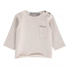 T-Shirt Poche Oriol Gris clair