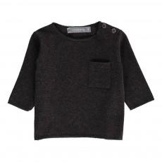 T-Shirt Poche Oriol Gris anthracite