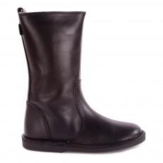 Mid Boots Cuir Fourrées Digg's Noir