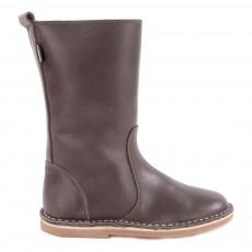 Mid Boots Cuir Fourrées Digg's Gris foncé