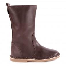 Mid Boots Cuir Fourrées Digg's Marron