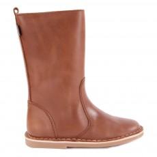 Mid Boots Cuir Fourrées Digg's Camel