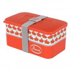 Lunchbox en mélamine - Lapin Orange