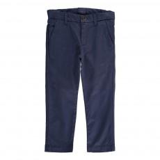 Pantalon Chino Obius Bleu marine