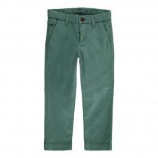 Pantalon Chino Obius Vert céladon