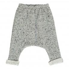 Pantalon Jacquard Poche Cris Gris clair