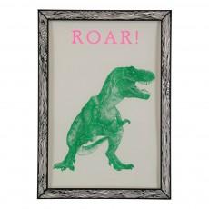 Affiche Roar! 29,7x42 cm Vert