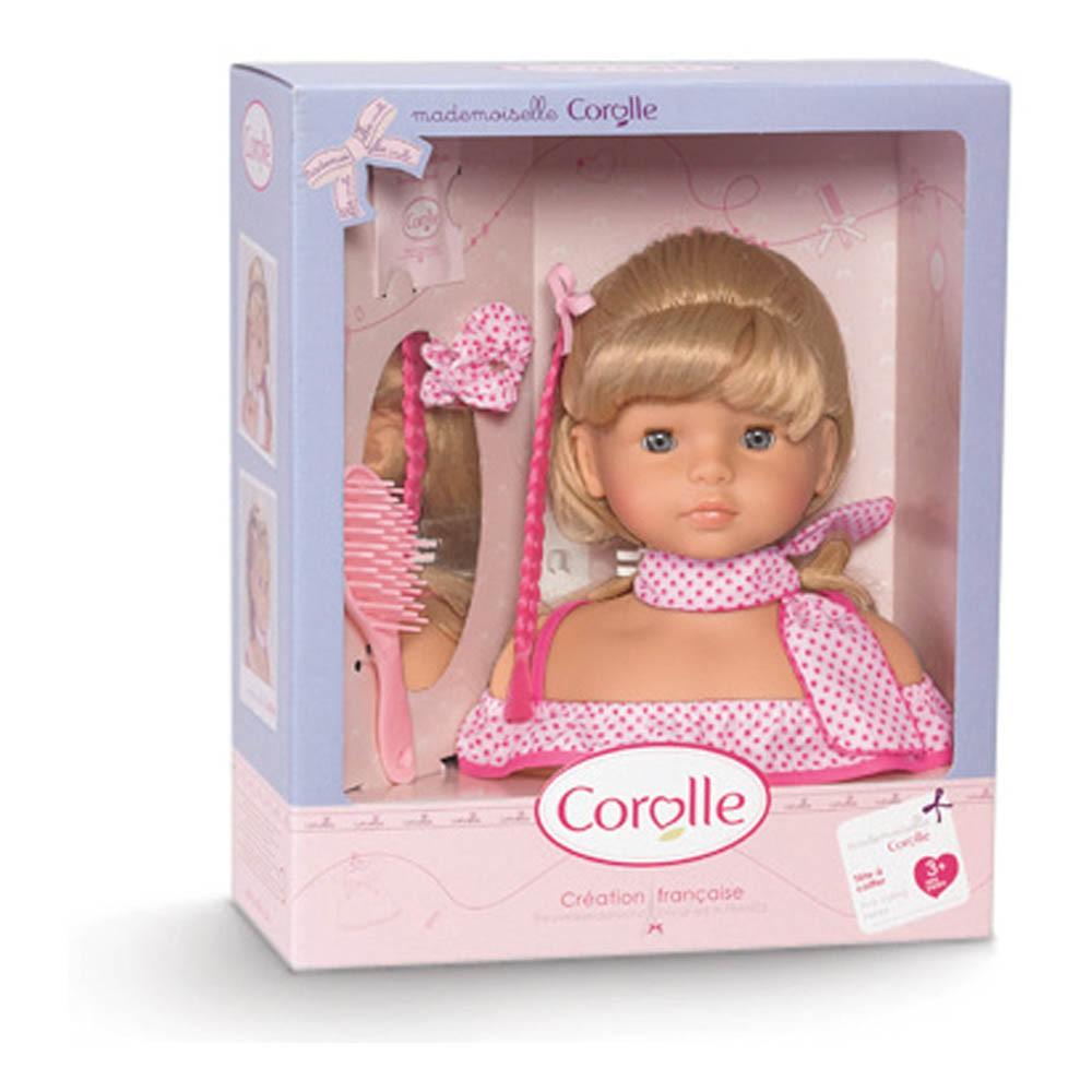 t te coiffer multicolore corolle jeux jouets loisirs enfant smallable. Black Bedroom Furniture Sets. Home Design Ideas