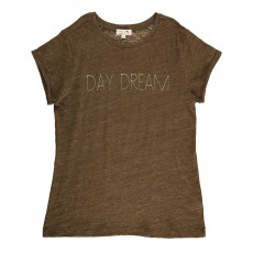T-Shirt Chiné Day Dream Peanut Vert kaki
