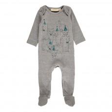 Pyjama Chats Nat Gris chiné