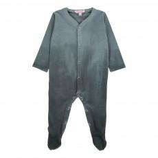 Pyjama Dégradé Pieds Shaded Gris