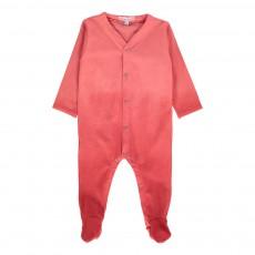 Pyjama Dégradé Pieds Shaded Corail