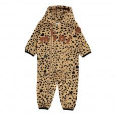 Combinaison Polaire Leopard Beige