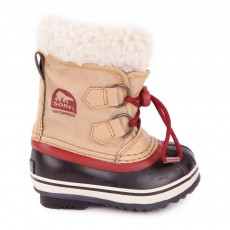 Boots Nylon Imperméable Yoot Pac Beige