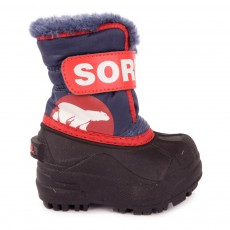 Boots Nylon Snow Commander Bleu marine