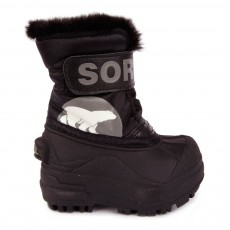 Boots Nylon Snow Commander Noir