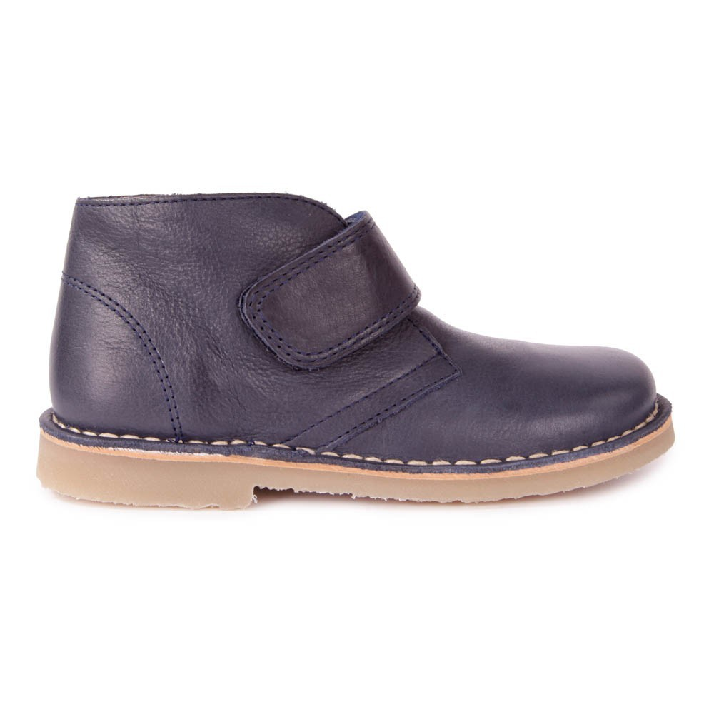 desert boots cuir scratch bleu marine petit nord chaussures enfant smallable. Black Bedroom Furniture Sets. Home Design Ideas