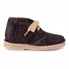 Desert Boots Lacets Gris