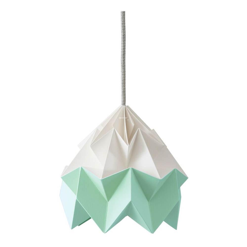 suspension origami moth bicolore vert studio snowpuppe. Black Bedroom Furniture Sets. Home Design Ideas