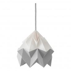 Suspension Origami Moth Bicolore Gris