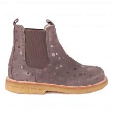 Boots Chelsea Pois Gris