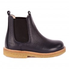 Boots Chelsea Bleu marine