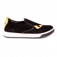 Slip On Yeux Monstre Noir