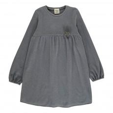 Robe Pompon  Gris