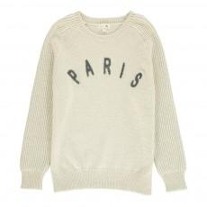 Pull Paris Pinson Ecru