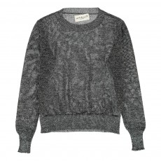 Pull Lurex Song Gris anthracite