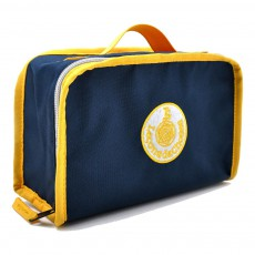 Lunch box - Marine et jaune