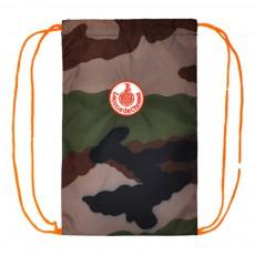 Sac goûter - Militaire et orange