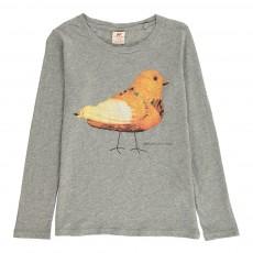 T-Shirt Poussin Gris clair