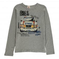 T-Shirt Voiture Racing Gris clair