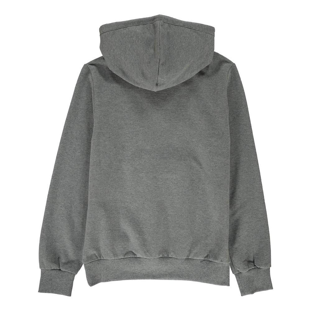 sweat capuche monstre poche zip gris chin fendi mode ado gar on smallable. Black Bedroom Furniture Sets. Home Design Ideas