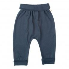 Pantalon Pois Harem Bleu marine