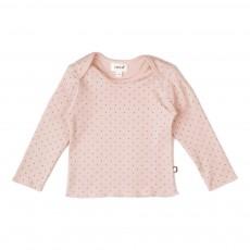 T-Shirt Pois Rose