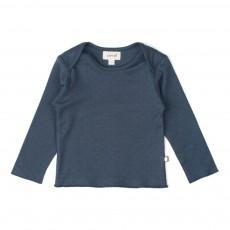 T-Shirt Pois Bleu marine