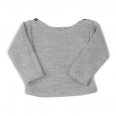 Pull Baby Alpaga Light Gris clair