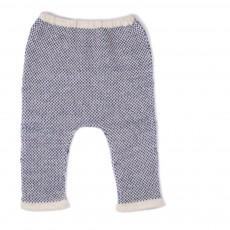 Sarouel Baby Alpaga Bicolore Hammer Pants Bleu