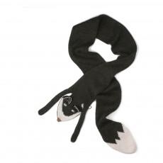 Echarpe Baby Alpaga Furet Noir